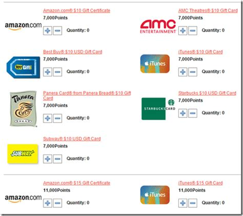 Gift Card Redemption Rate - ouch club carlson points for retail cards redemption value 1 43 per 1 000 points