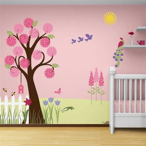 babyzimmer wandgestaltung malen kinderzimmer wandgestaltung baum selber malen andorwp