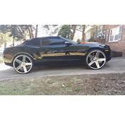 Chevy Camaro On 26 Inch Ballers  Big Rims Custom Wheels