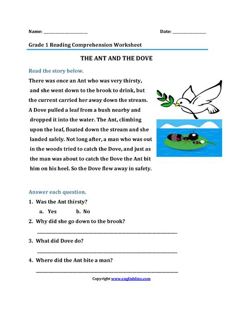 Esl Reading And Writing Worksheets by Englishlinx Worksheets