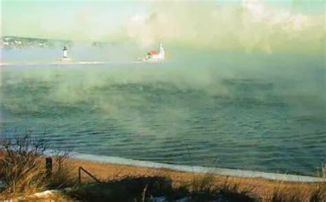 lake superior sea smoke lake superior region blog cold air returns and makes sea