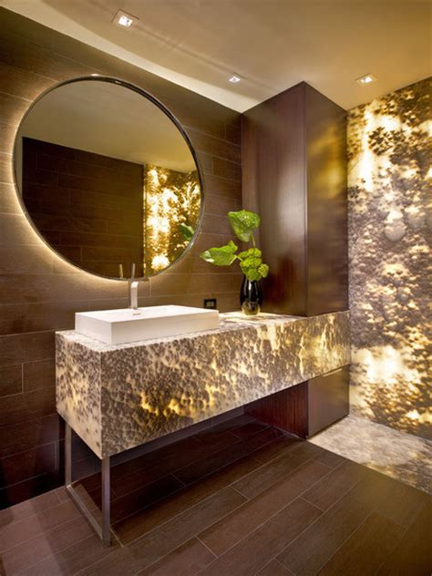 onyx bathroom designs onyx black cloud backlit contemporary bathroom miami by marble of the world