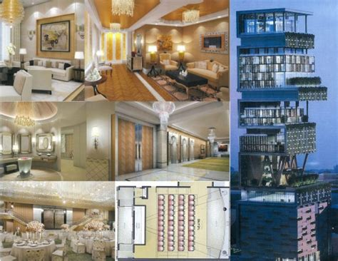 interior of house of mukesh ambani antilla the 1 billion super home in mumbai india homes of the rich
