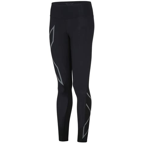 Celana 2xu Compression Tights For Size S Black wiggle 2xu s mcs run compression tights compression base layers