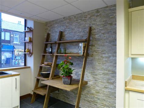 ladder desk with shelves bespoke furniture
