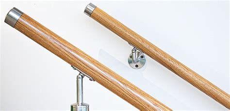 Stainless Steel Banister Rail Timber Banister Handrails In Your Choice Of Beech Cedar
