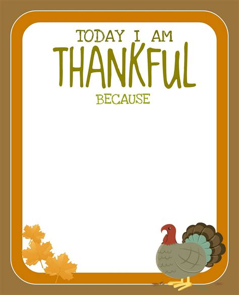 i am thankful for template pre k card printable free thanksgiving printable creative juice