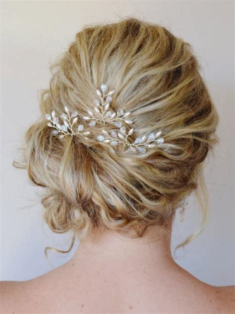 wedding hair on pinterest 95 pins bridal hair accessories bridal hair pins pearl crystal