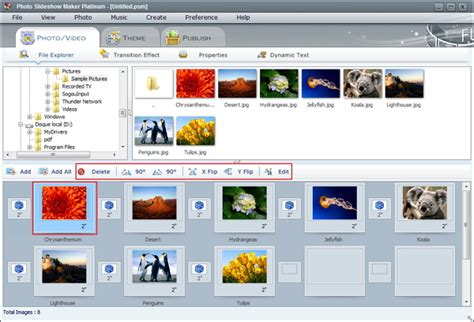 slideshow maker picture video movie with music for tutorial of photo slideshow maker platinum create video