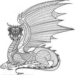 ausmalbild zentangel drachen ausmalbilder kostenlos zum ausdrucken