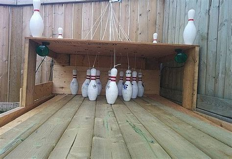diy backyard bowling alley setting up your own backyard bowling alley diy projects