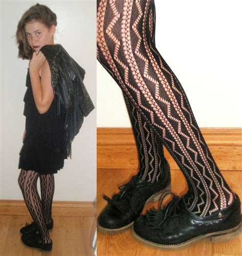 patterned tights interview rian s red or dead black loafers primark patterned