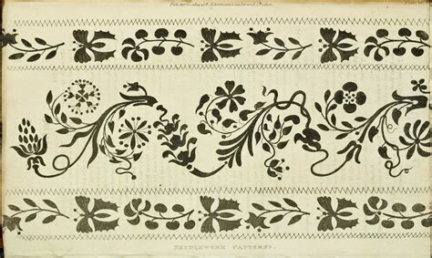 english patterns pdf narrow bands 200 year old english regency era patterns