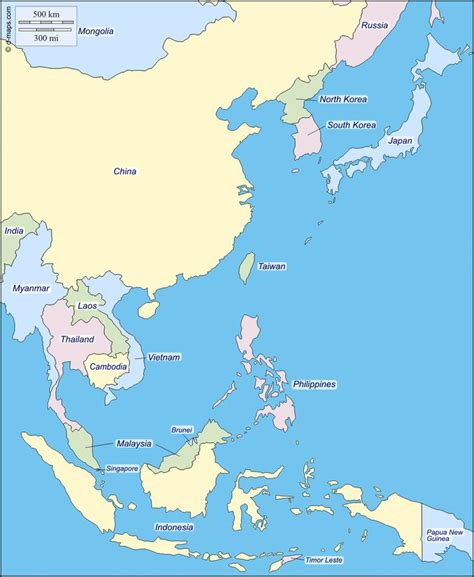 asia map with names 17 best ideas about east asia map on map of