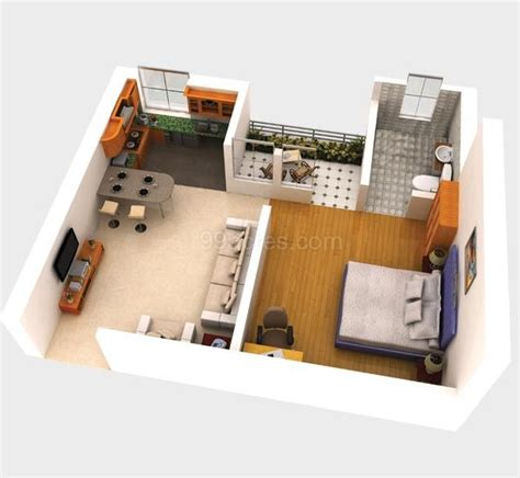 500 square feet apartment shubhkamna buildtech pvt ltd builders shubhkamana signinn
