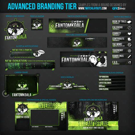 twitch layout template twitch layouts livestream layouts twitch designs