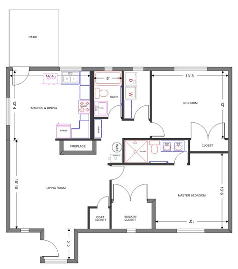 sle floor plan for house homes floor plans