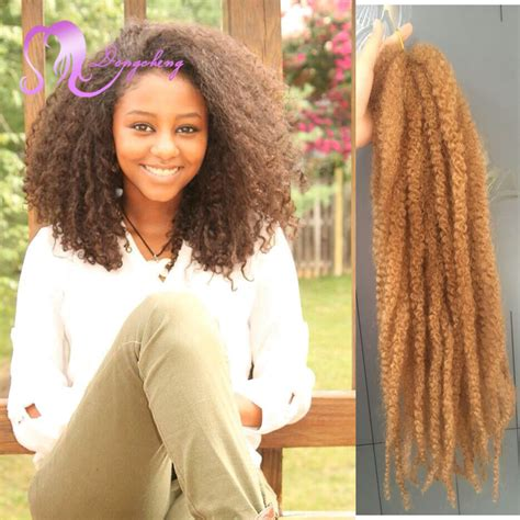 hair ombre kinky twist 18inch afro kinky twist hair crochet braids 1b 27 ombre