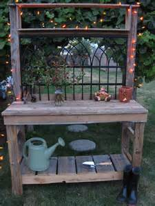 Garden Potting Bench Ideas Best 25 Potting Tables Ideas On Pinterest Potting Benches Garden Table And Garden Work Benches