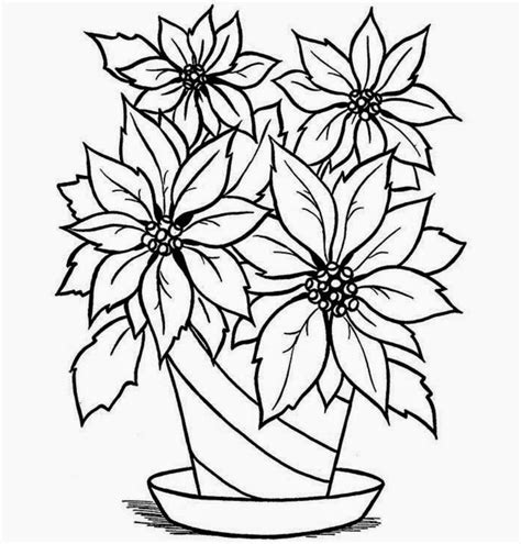 How To Draw Flowers In A Vase by Flower Vase With Flowers Drawings Flower Vase Drawing For
