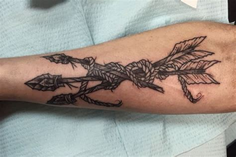 indian arrow tattoo designs arrows best ideas gallery
