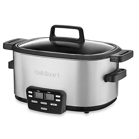 Slow Cooker Bed Bath And Beyond Cuisinart 174 Cook Central 6 Quart Slow Cooker Bed Bath