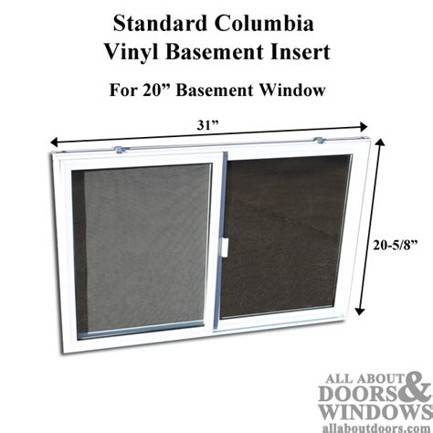 basement window dimensions vinyl basement window replacement 31 x 20 sliding window