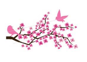 japanese cherry blossom tree clipart