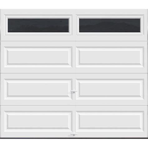 Clopay Premium Series 8 Ft X 7 Ft 18 4 R Value 18 Ft Garage Door