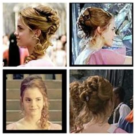 hermione yule ball hairstyle hermione hair yule ball and goblet of fire on pinterest