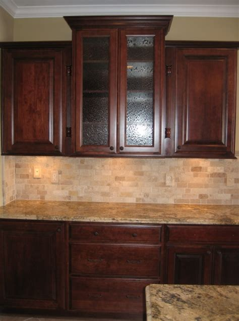 wood panel backsplash custom home kitchen custom wood cabinets w textured