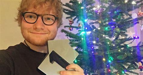 ed sheeran claims christmas number    actual dream