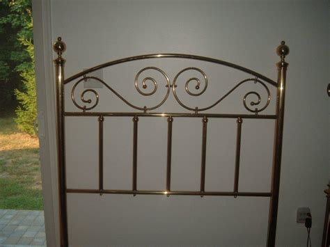brass bed headboard antique brass headboards and footboard for room modern