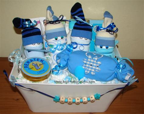 Awesome Christmas Onesies For Babies #6: Boy-baby-gift-basket.jpg