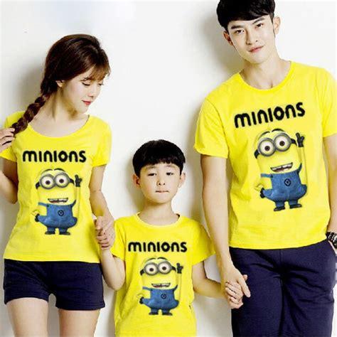 Kaos Family Lengan Pendek My Family kaos family terbaru minions murah keren