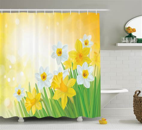 summer bathroom decor floral shower curtain flower garden in summer bathroom decor ebay