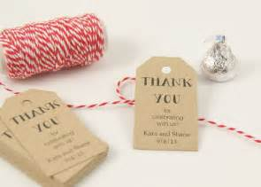 Tag Wedding Favors by Favor Tags Wedding Favor Tag Bridal Shower Favor Tag