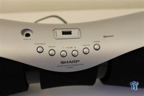 Speaker Bluetooth Sharp sharp gx bt7 2 1 channel wireless bluetooth speaker review