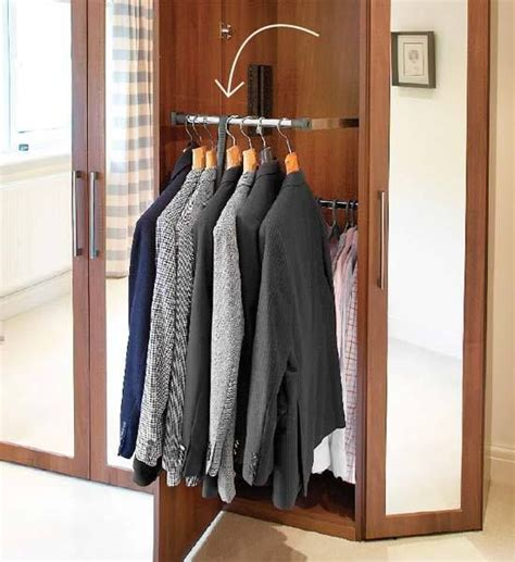 Diy Pull Closet Rod by Pin By Gatt On Closet And Organization
