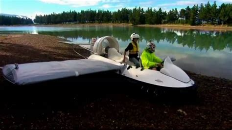 airboat vs sw boat check out this incredible jaw dropping homemade flying