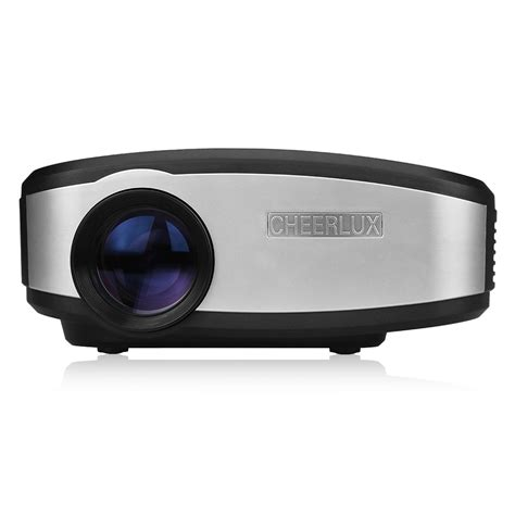 Lu Led Projector cheerlux c6 mini led projector 1080p 1200 lumen home theater hdmi usb vga av atv ebay