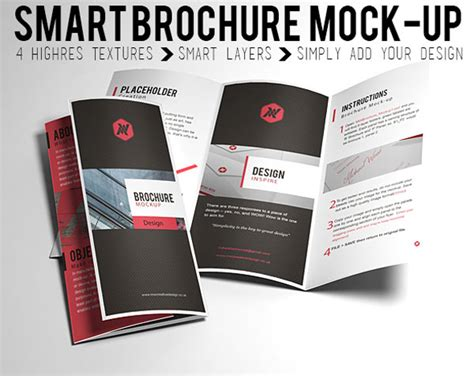 brochure mock up template free psd mockup templates 2015