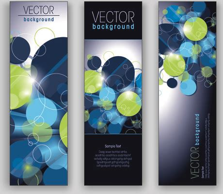 vertical banner  vector    vector
