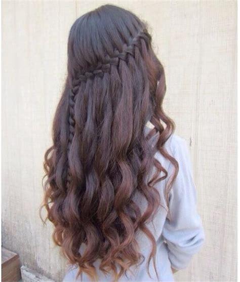 Waterfall Hairstyles by Waterfall Braid Hair Styles