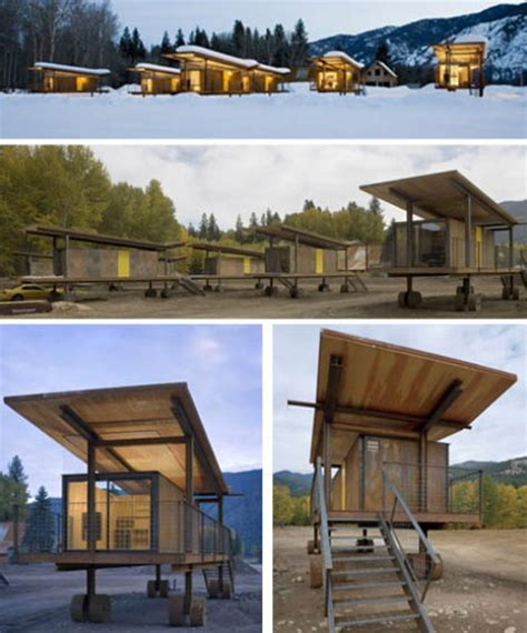 modern prefab homes defy portable house type