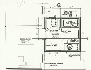 bathroom additions floor plans handicap bathroom addition in jacksonville home sweet