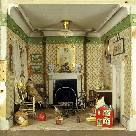 dolls house nursery wallpapers for children victoria and albert museum