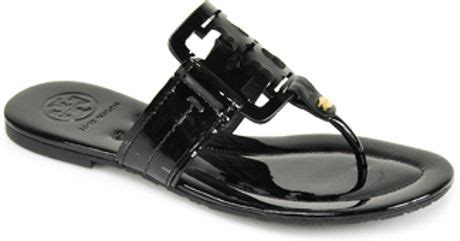 Sandal Square Black burch square miller black flat sandal in black lyst