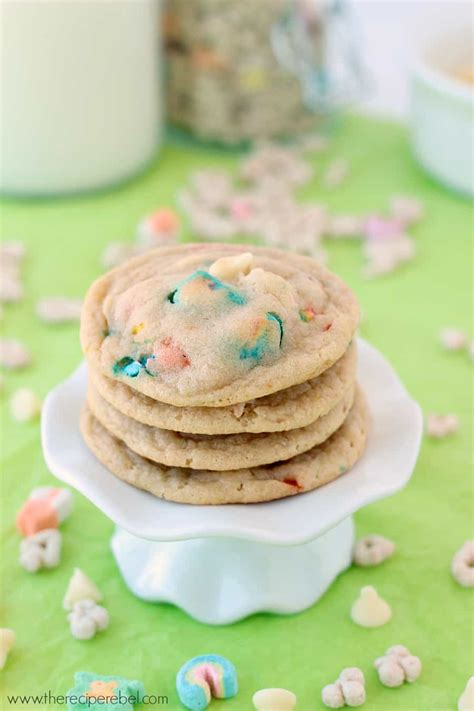 white chocolate lucky charms cookies recipe the