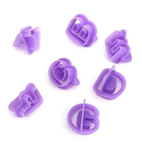 formine lettere per pasta di zucchero anokay set 40 formine taglia biscotti a lettere dell